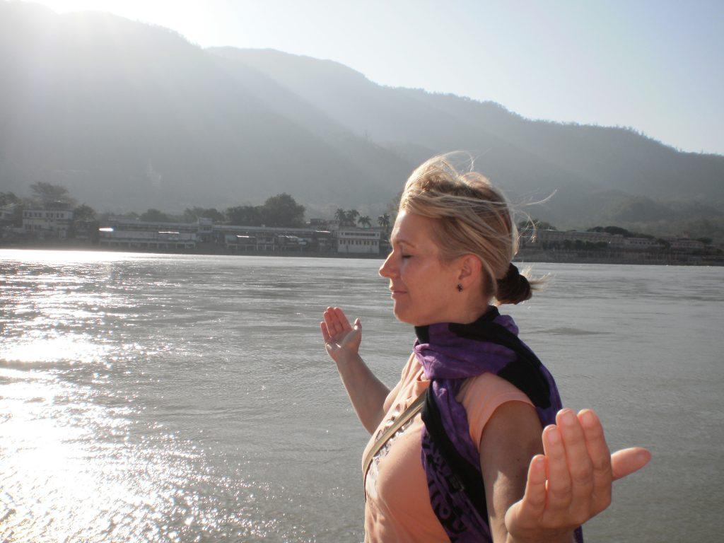yogatrainerin anke kranabetter gastein dorfgastein